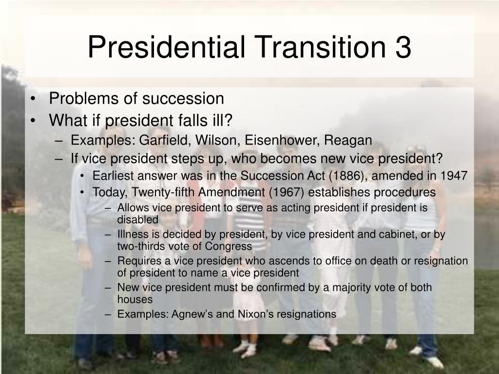 Presidential Transition 3