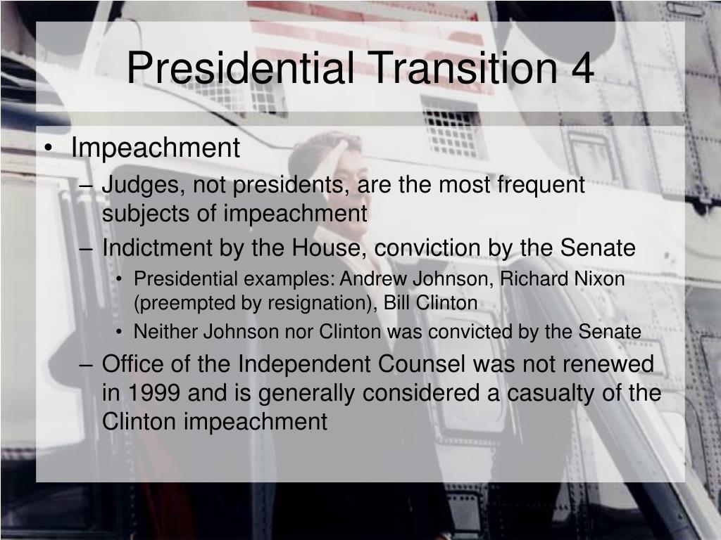 Presidential Transition 4