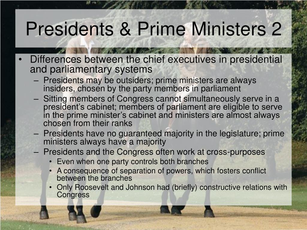 Presidents & Prime Ministers 2