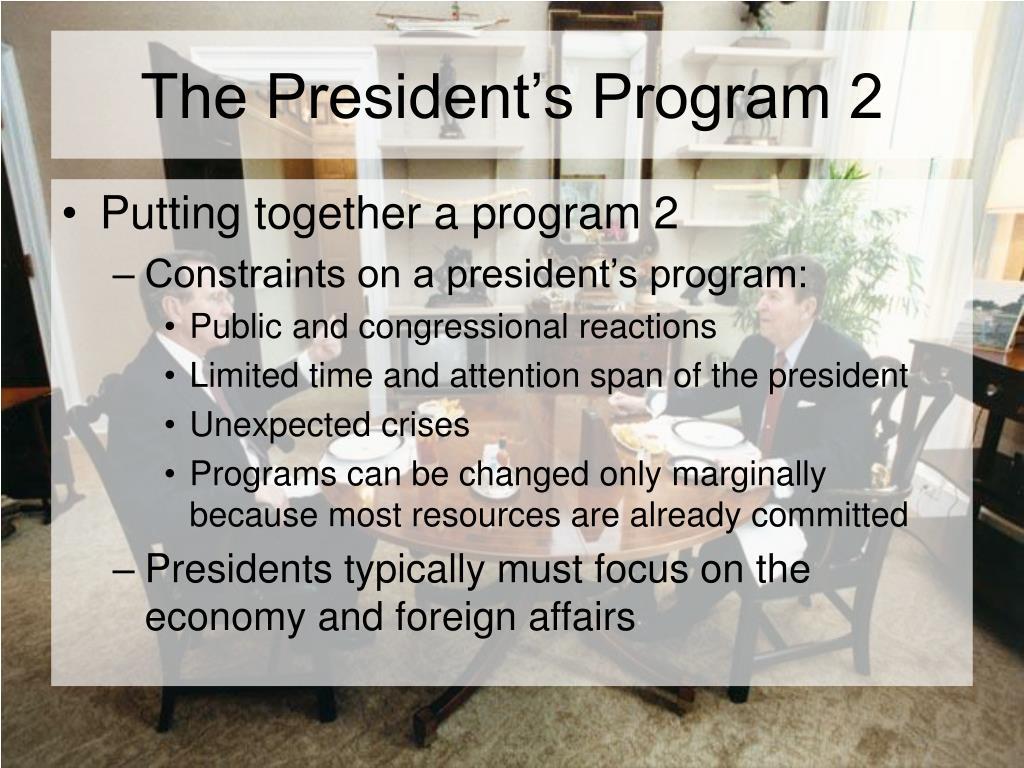 The President's Program 2
