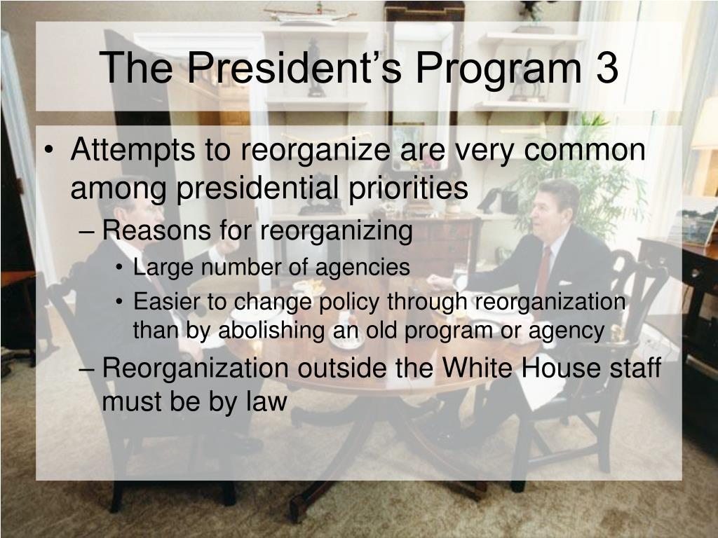 The President's Program 3