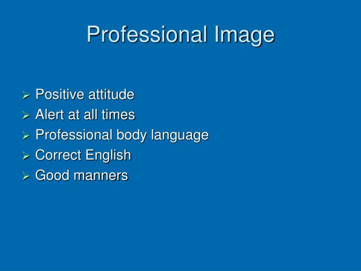 Professional Image