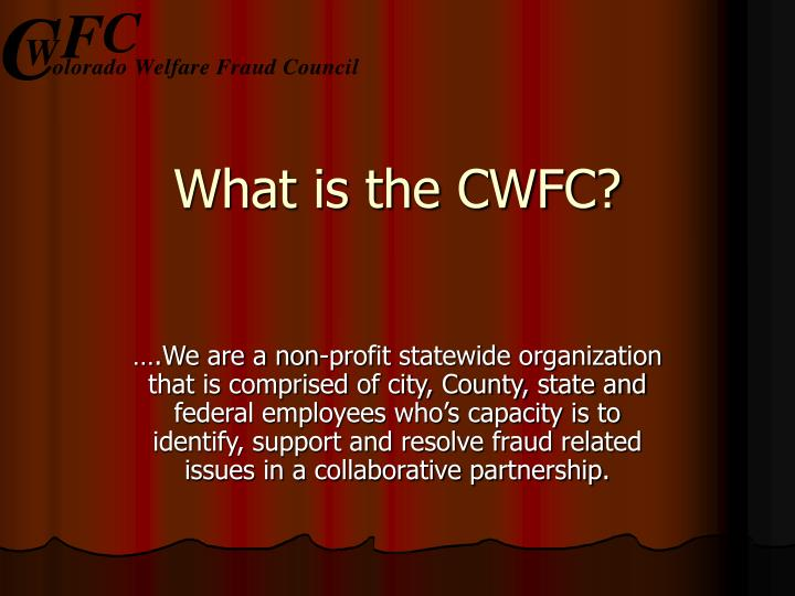 What is the cwfc