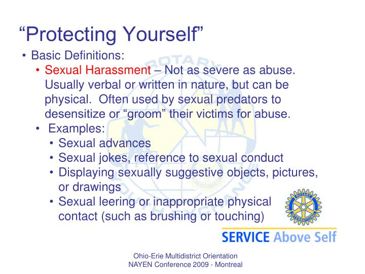 """Protecting Yourself"""