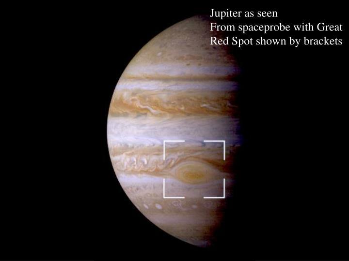 Jupiter as seen