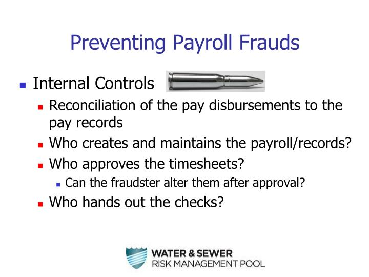 Preventing Payroll Frauds