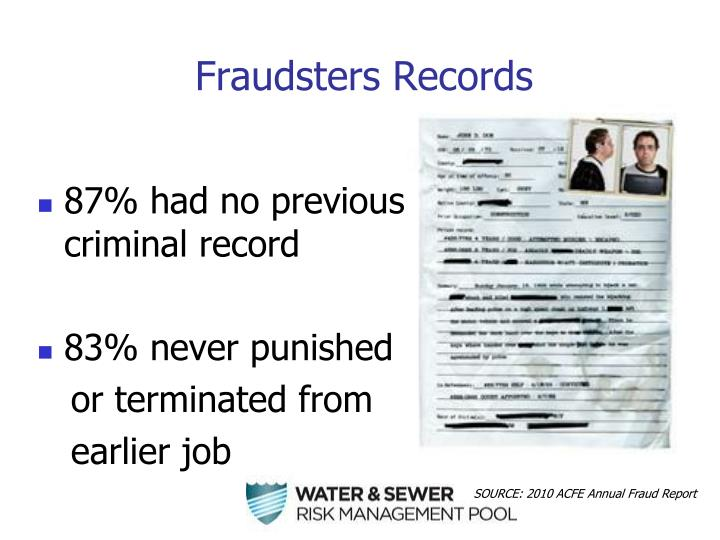 Fraudsters Records