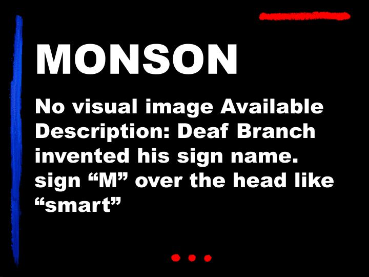 MONSON