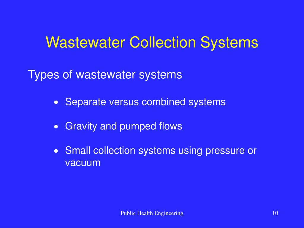 Wastewater Collection Systems