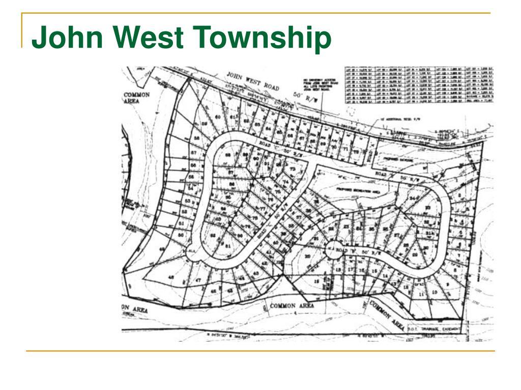 John West Township