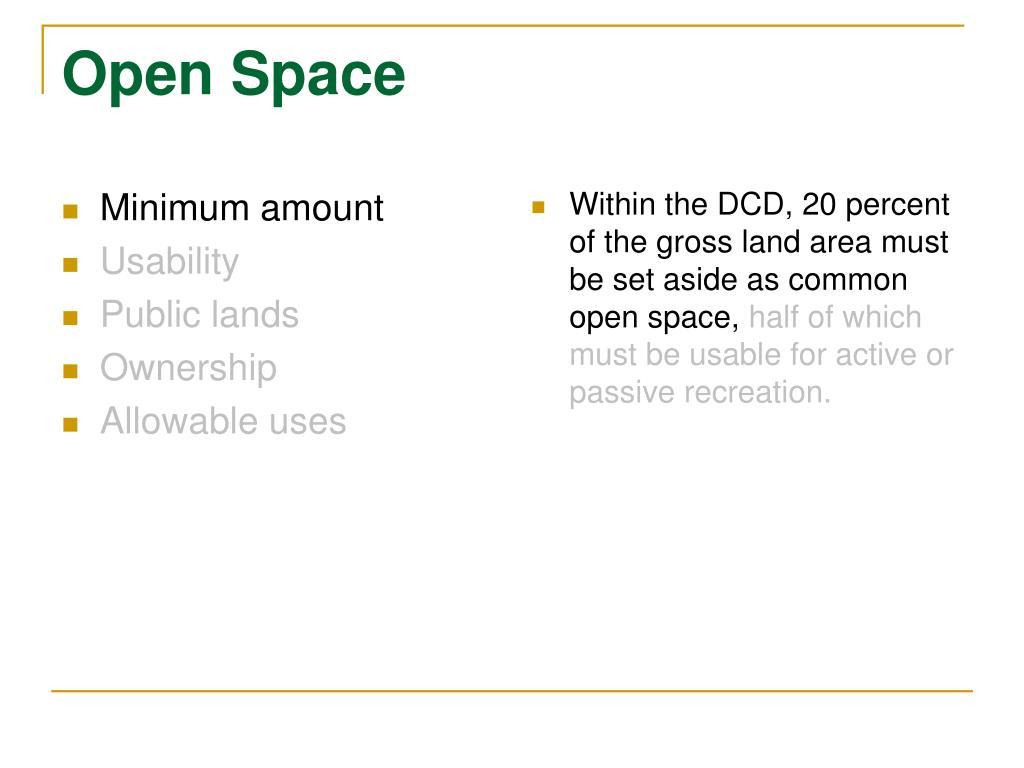 Minimum amount
