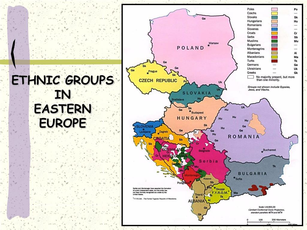 ETHNIC GROUPS IN