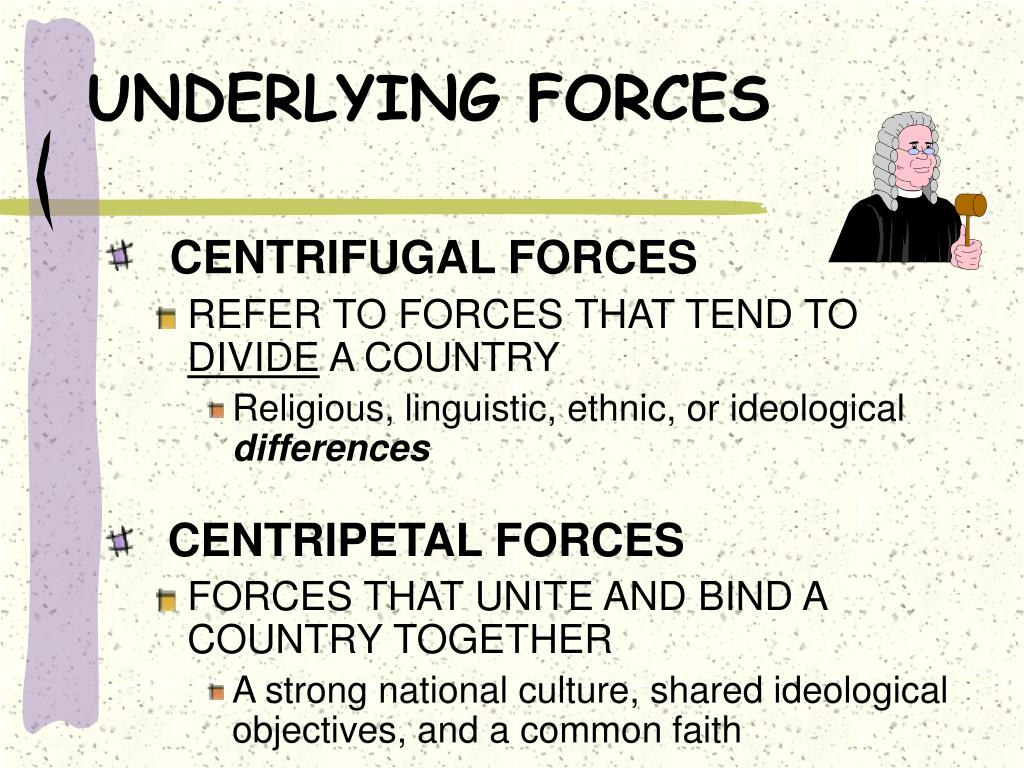 UNDERLYING FORCES