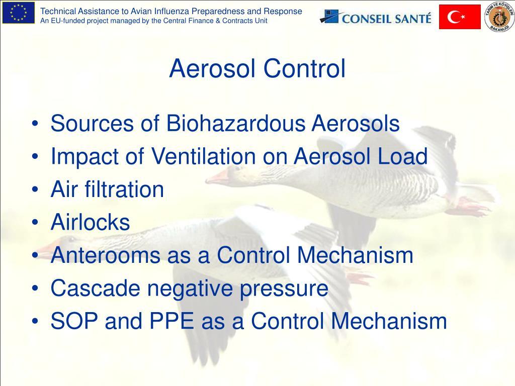 Aerosol Control