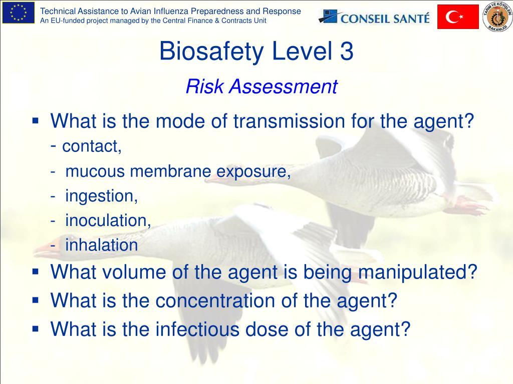 Biosafety Level 3