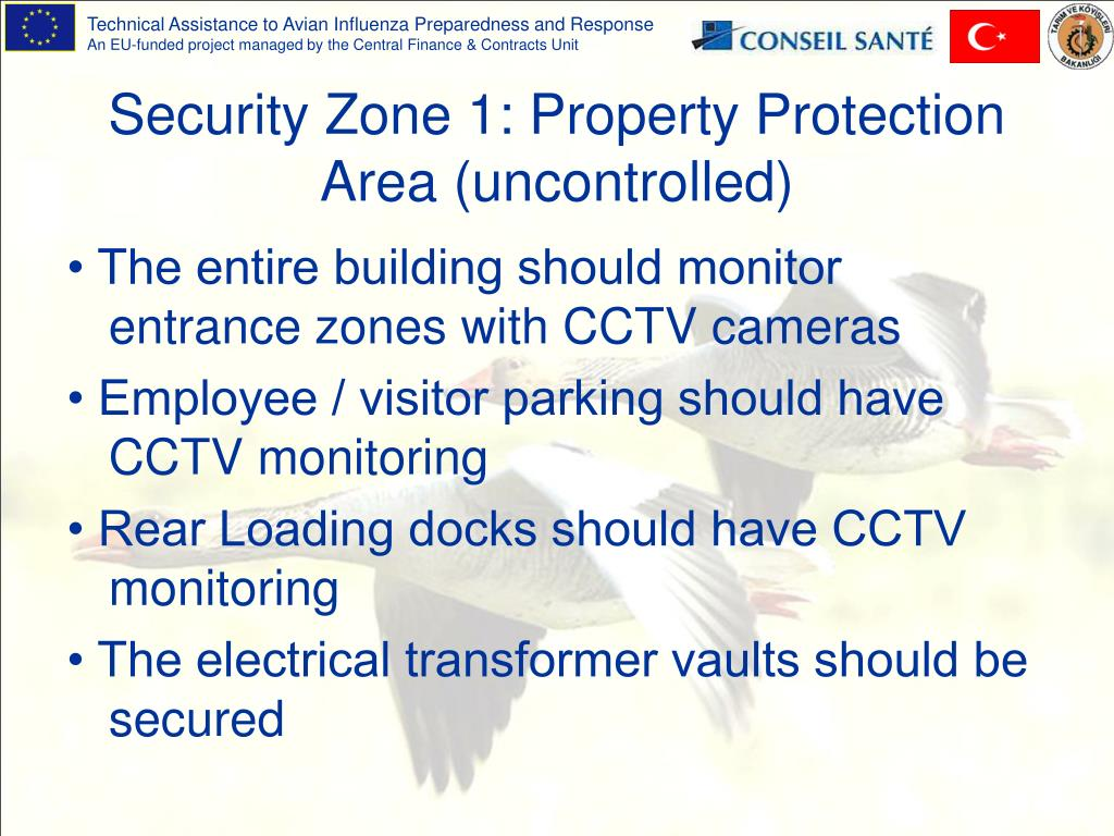 Security Zone 1: Property Protection Area (uncontrolled)