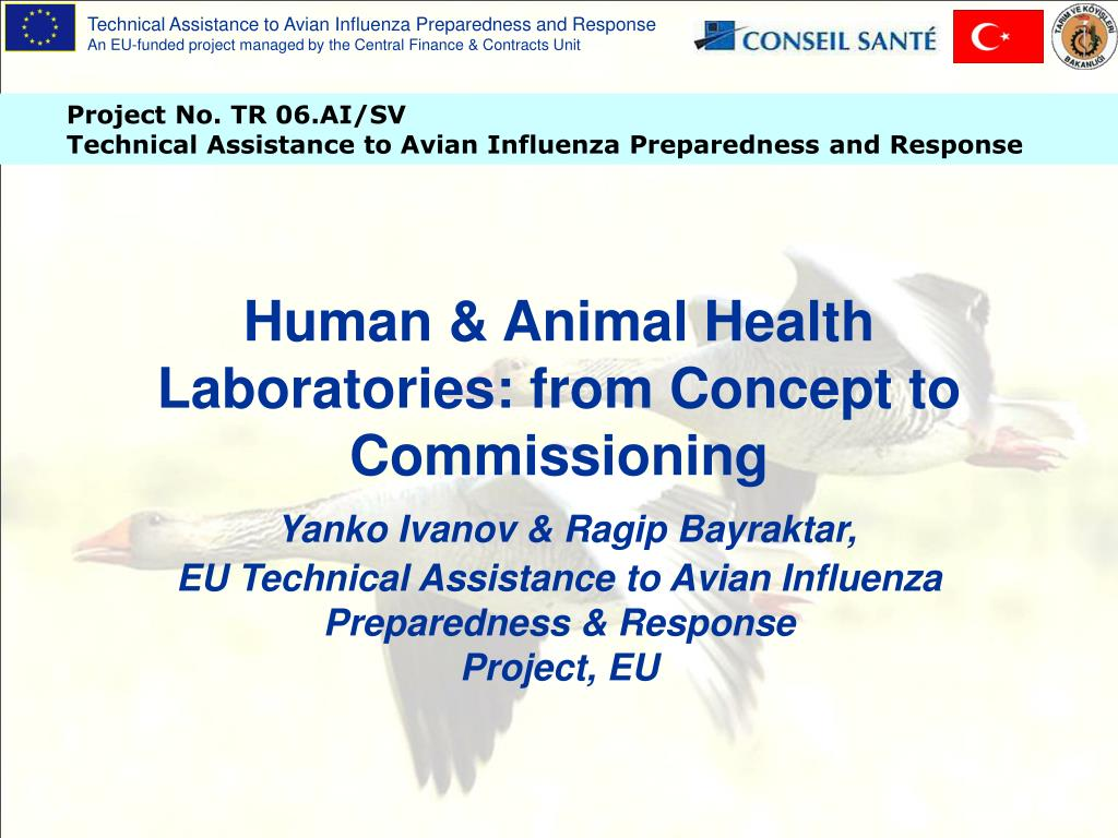 Human & Animal Health Laboratories: from Concept to Commissioning