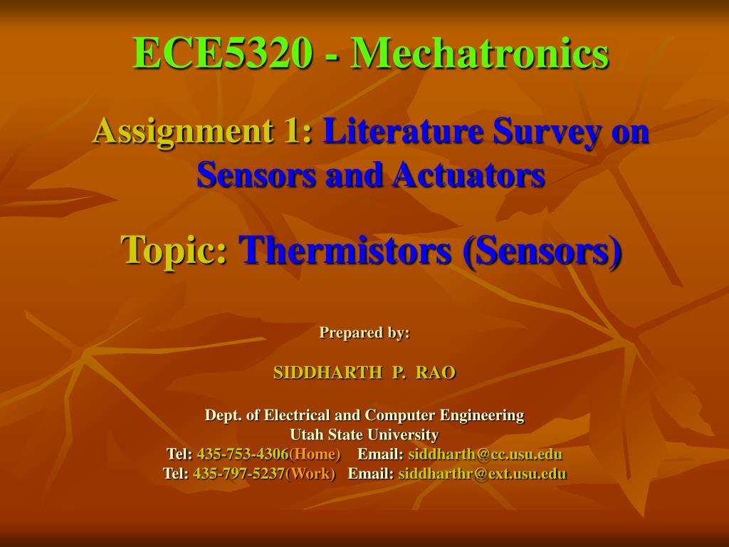 ECE5320 - Mechatronics