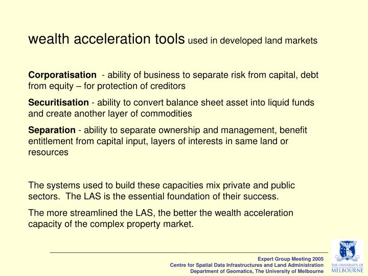 wealth acceleration tools