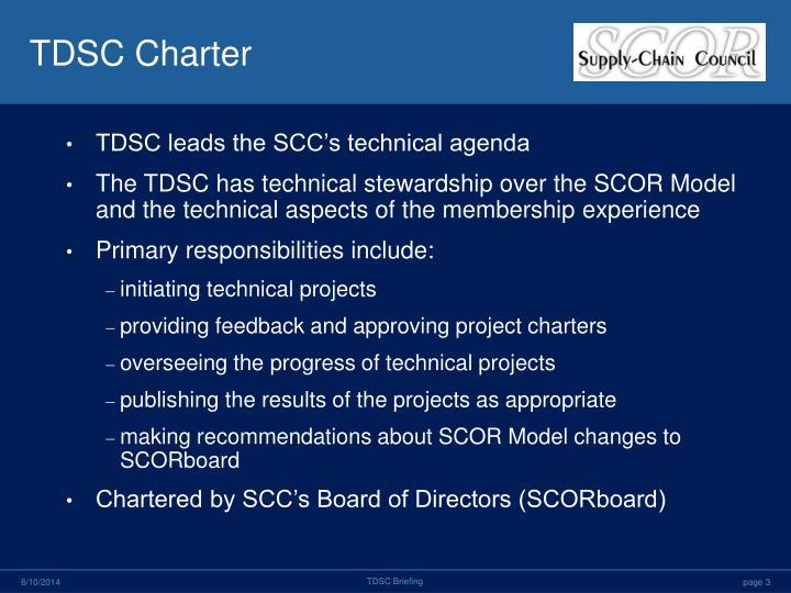 TDSC Charter
