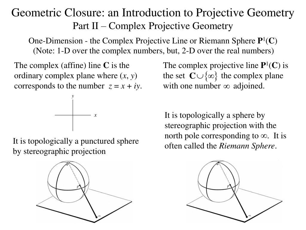 The complex projective line