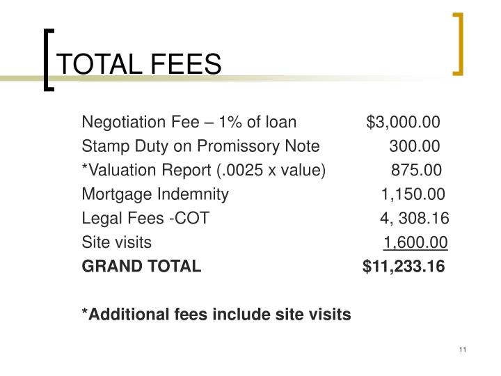 TOTAL FEES