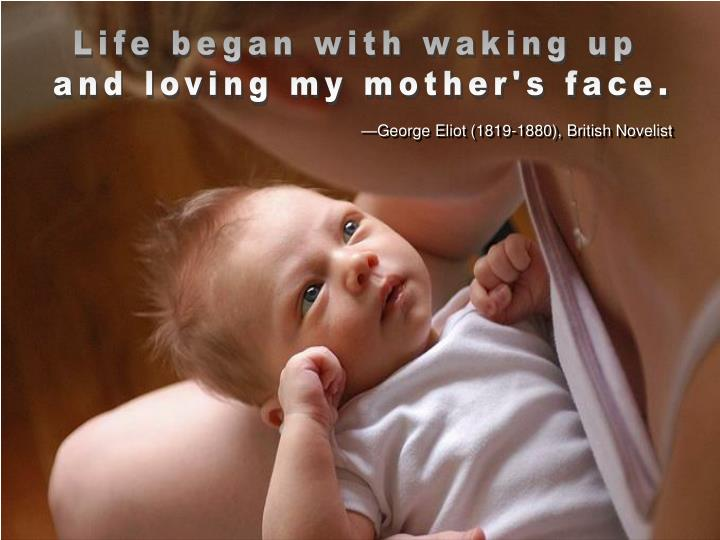Life began with waking up