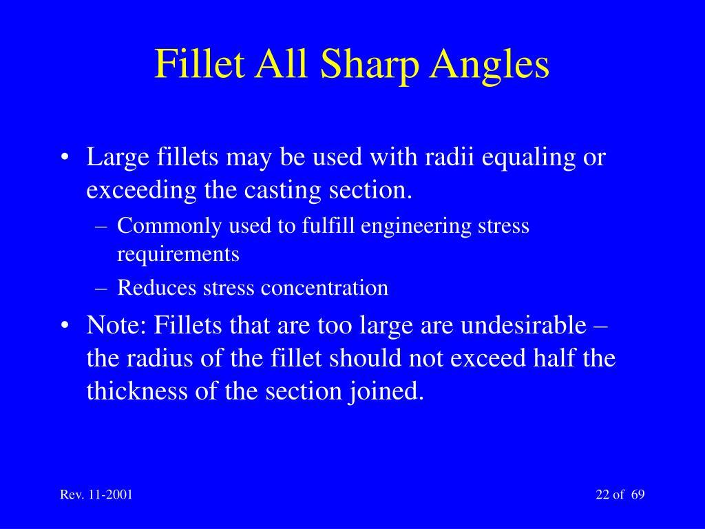 Fillet All Sharp Angles