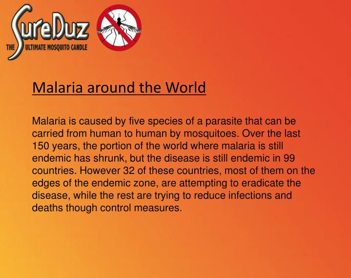 Malaria around the World