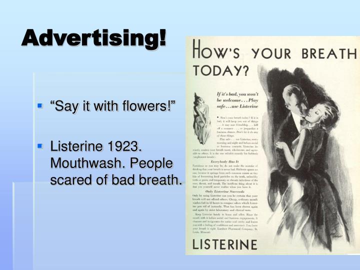 Advertising!