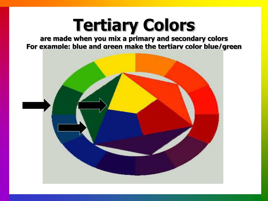 Tertiary Colors
