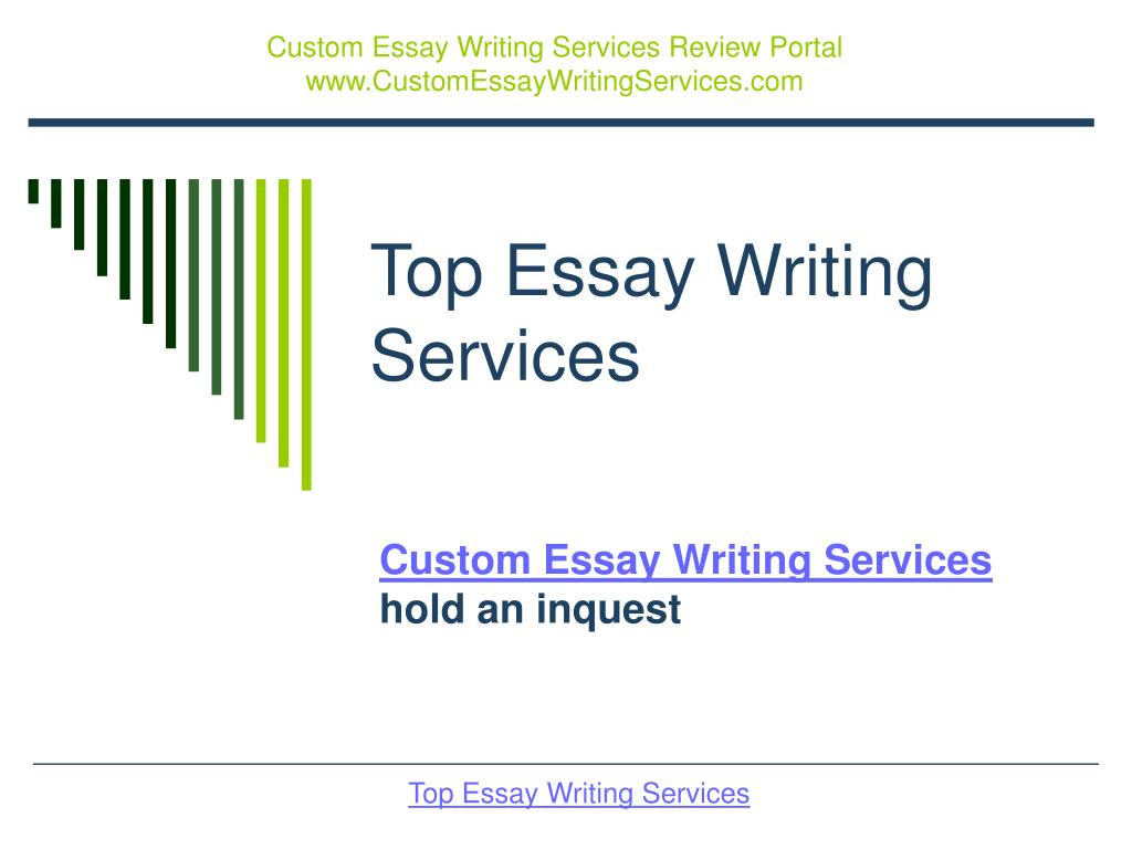 Custom Essay Writing Services Review Portal  www.CustomEssayWritingServices.com