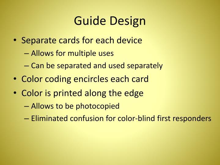 Guide Design