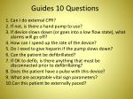 guides 10 questions