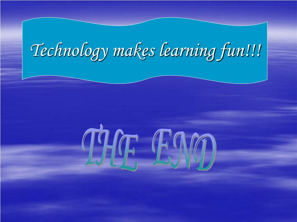 Technology makes learning fun!!!