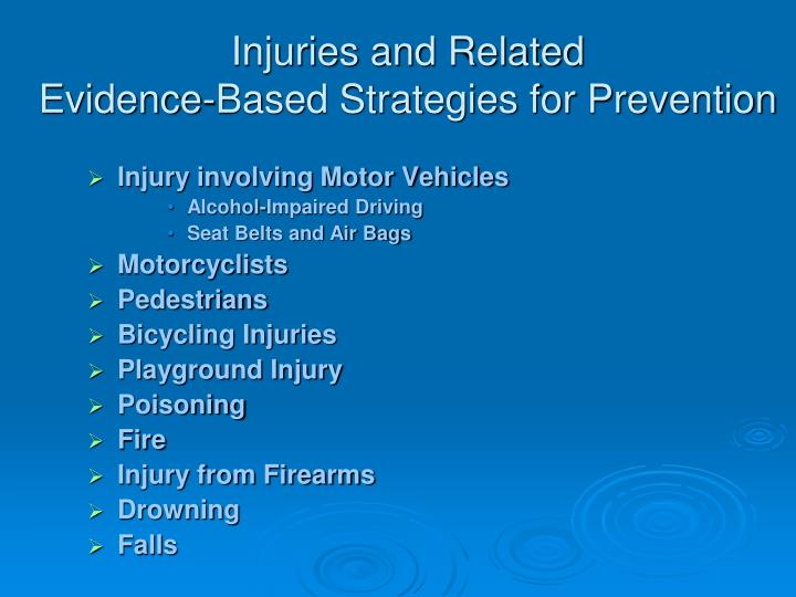 Injuries and Related