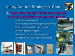 injury control strategies cont2