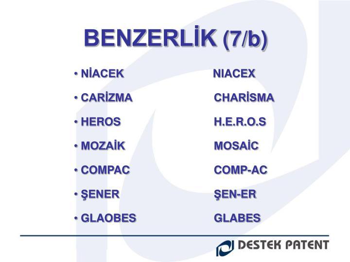 BENZERLİK