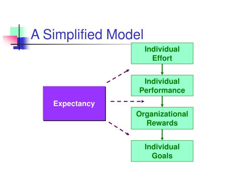 A Simplified Model