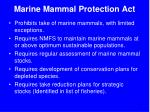 marine mammal protection act1