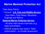 marine mammal protection act5