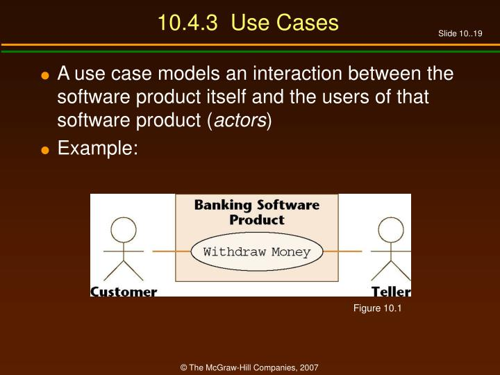 10.4.3  Use Cases