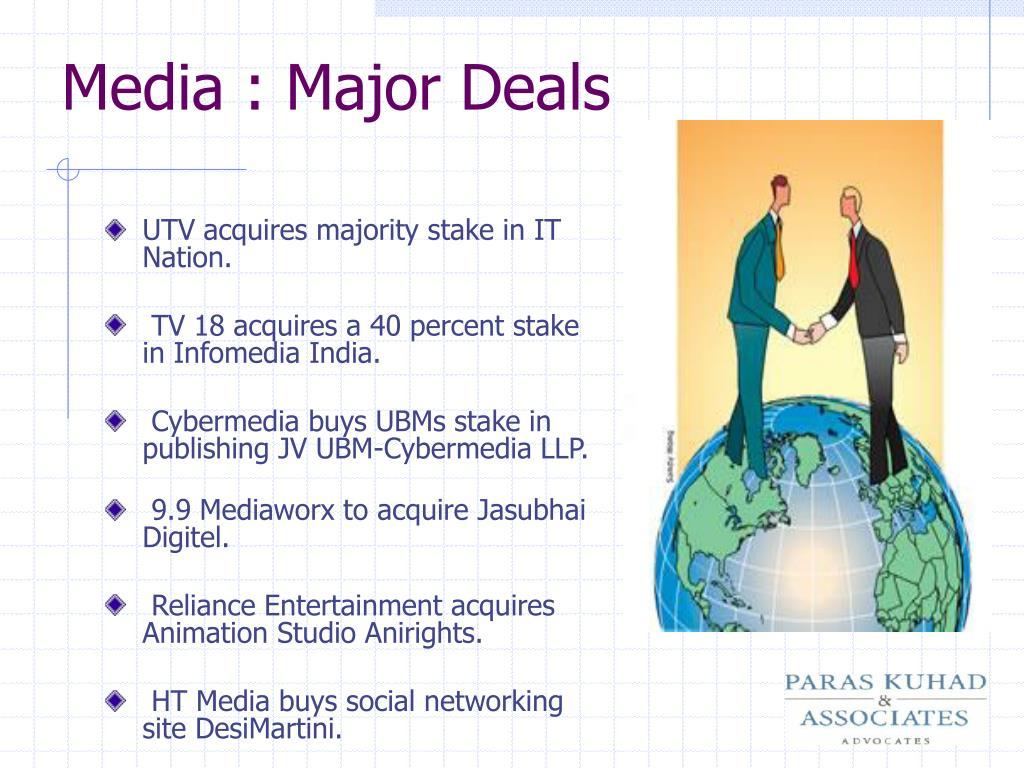Media : Major Deals