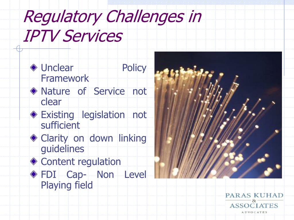 Regulatory Challenges in