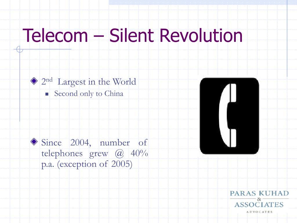 Telecom – Silent Revolution