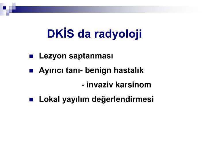 DKİS da radyoloji