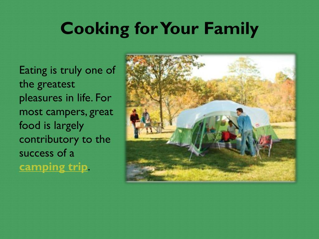Cooking for Your Family