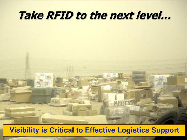 Take RFID to the next level…