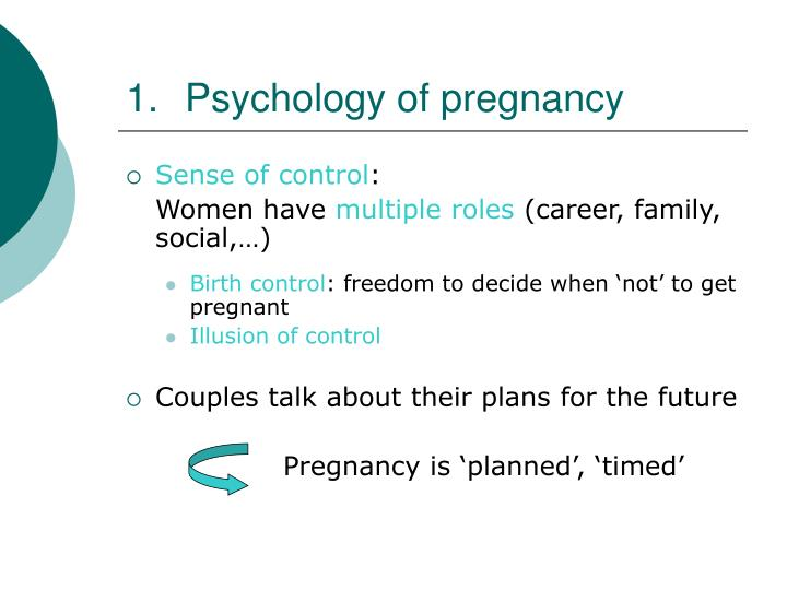Psychology of pregnancy