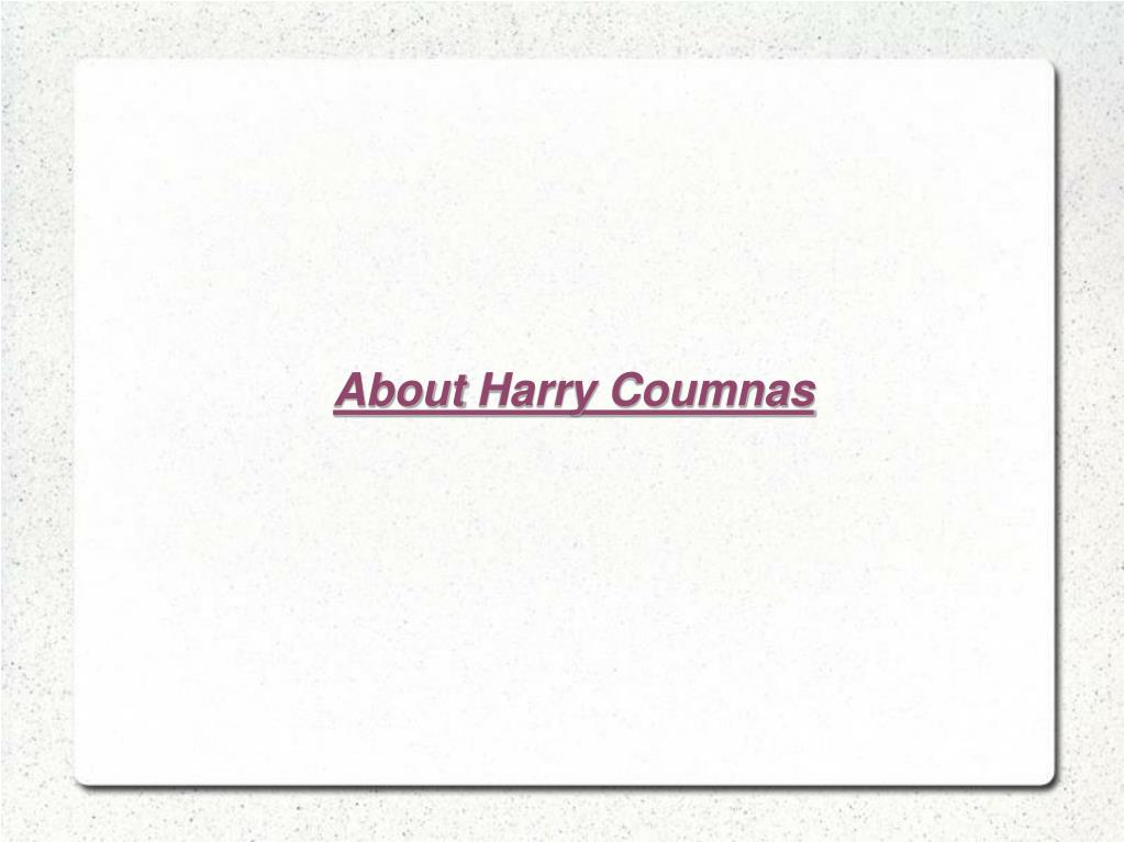 AboutHarry Coumnas